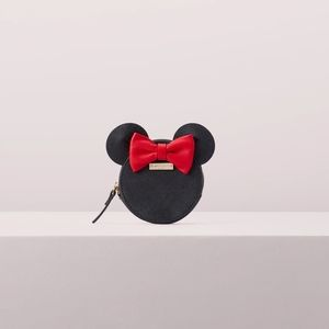 Kate Spade Minnie Mouse Red Bow Coin Purse